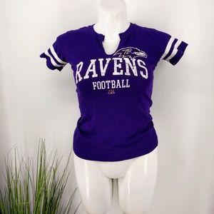 Ravens NFL v neck top